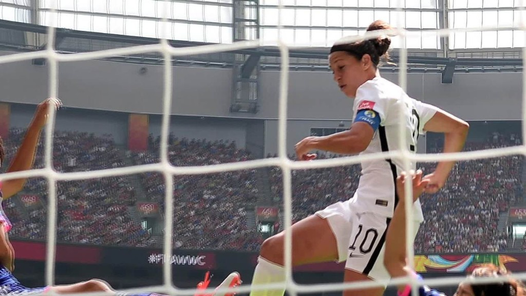 U.S. women win 3rd World Cup title