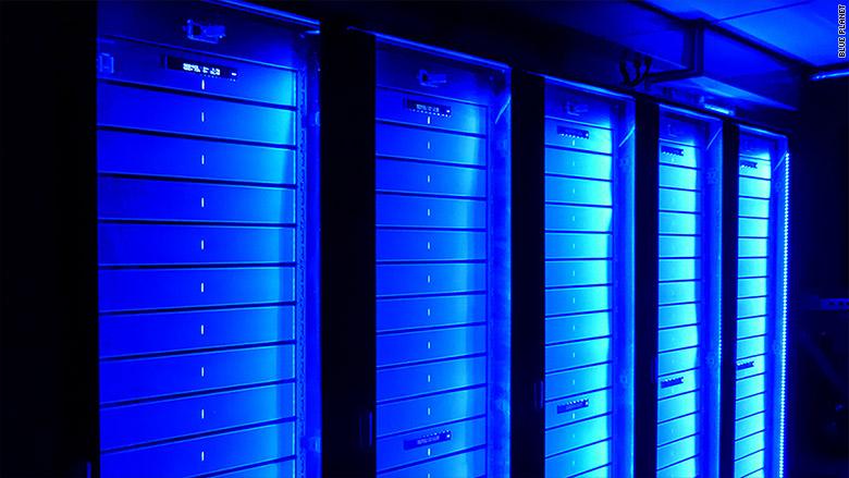blue planet servers