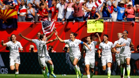 U.S. women soccer players charge pay discrimination