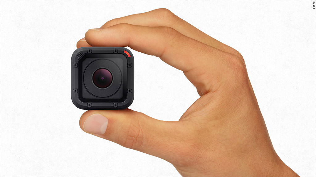 GoPro camera gets smaller