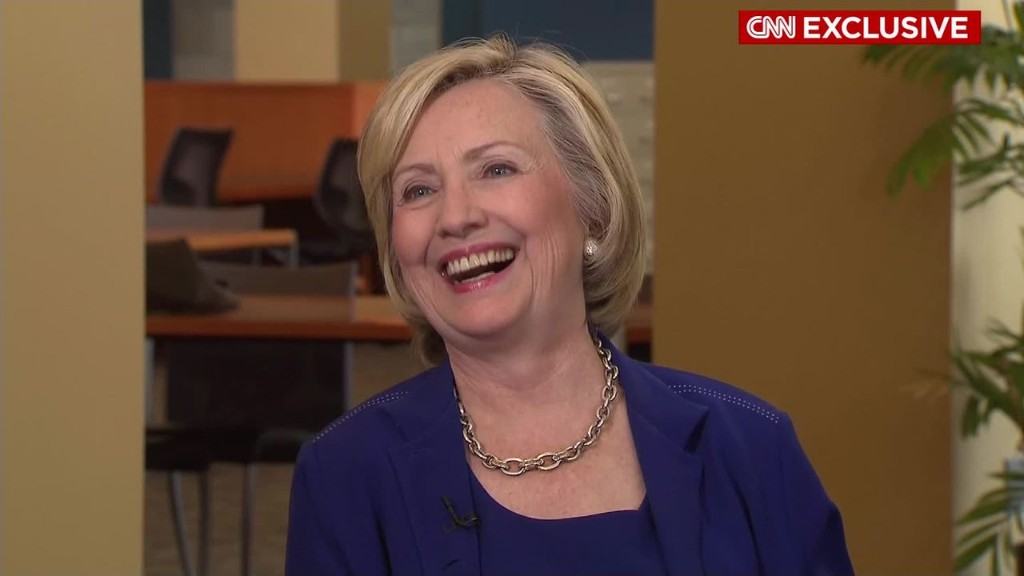 Hillary Clinton: 'I want a woman on a bill'