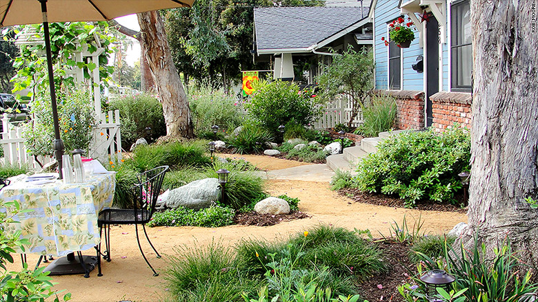 california landscaping lush backyard - California Landscapers Making A Mint Off The Drought