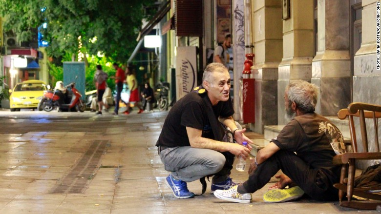 Greece homeless 3