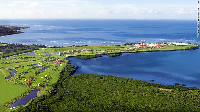 trump golf puerto rico