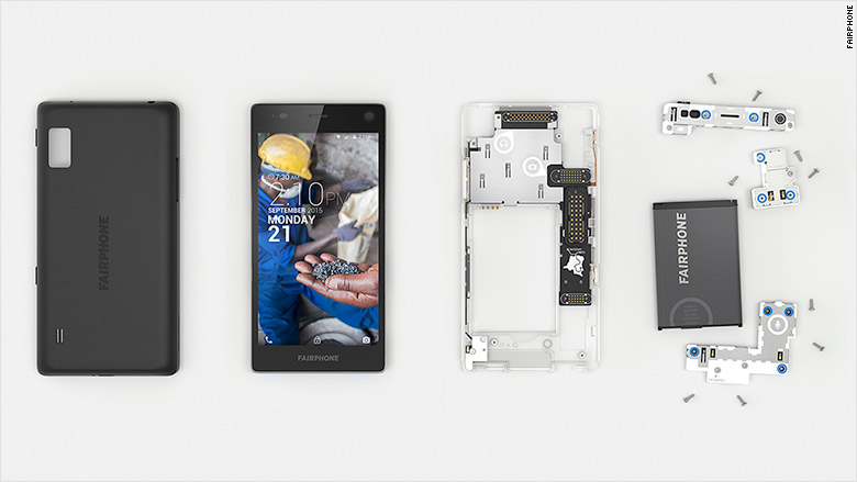 fairphone disassembled a