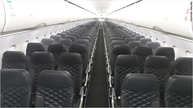 Frontier Airlines Has Widened The Dreaded Middle Seat