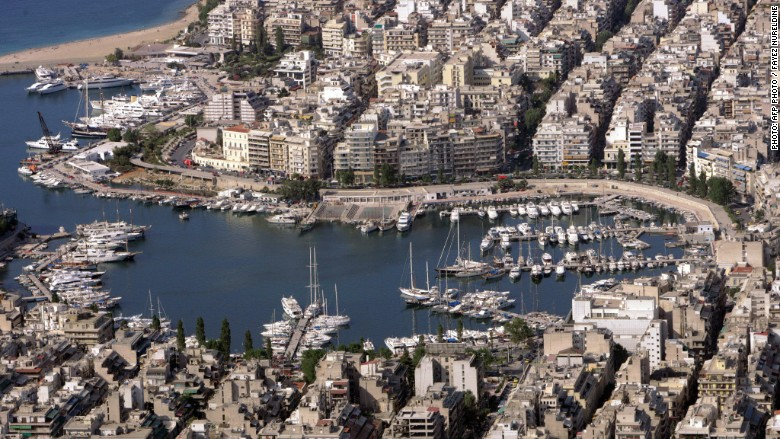 Greece Athens port
