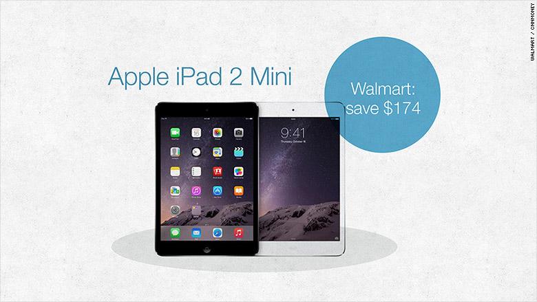 Walmart iPad2 Mini - See products that Amazon and Walmart