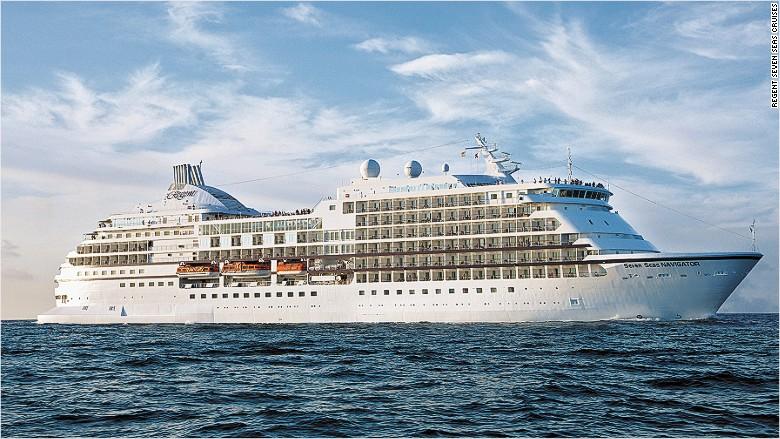 Regent world cruise ship