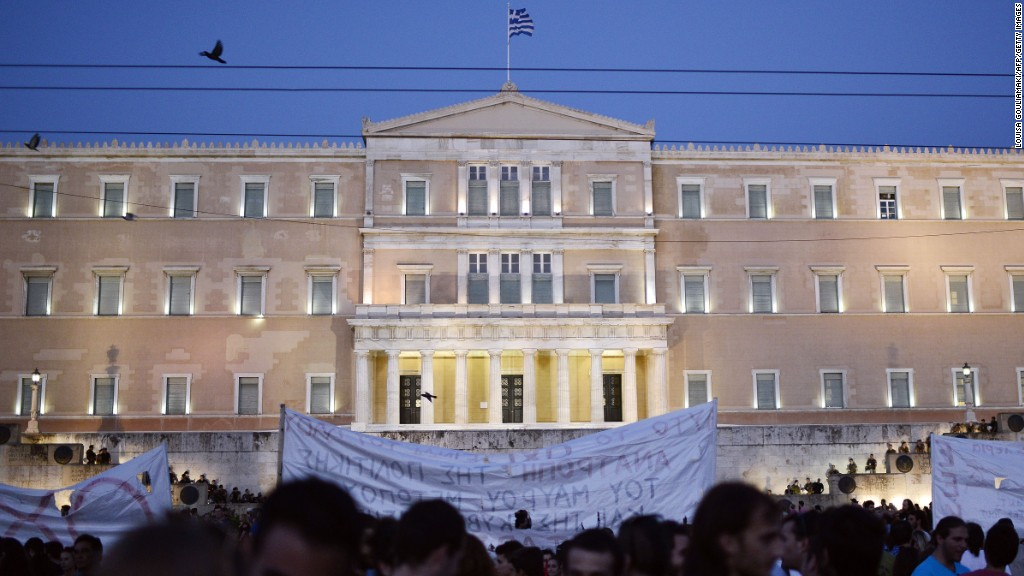 Greek parliament passes bailout bill