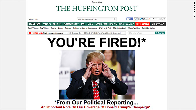 trump huffington post