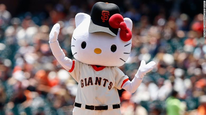 hello kitty baseball