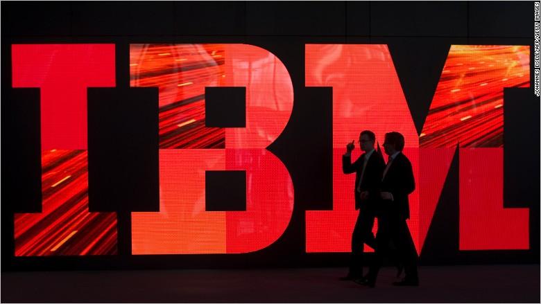 ibm logo red