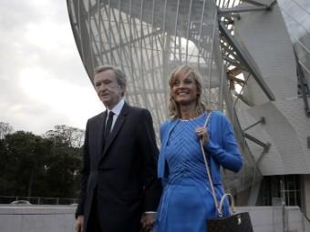 Bernard Arnault and He...