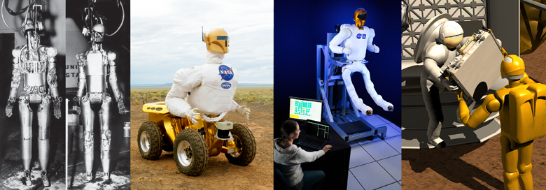 robonaut collage