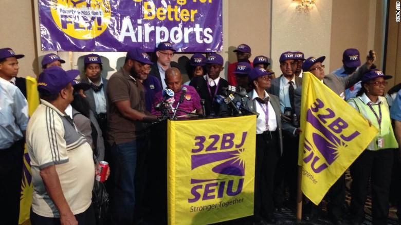 32bj airport worker