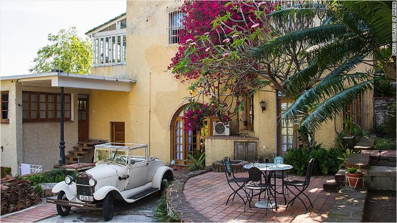 Cuba airbnb listing