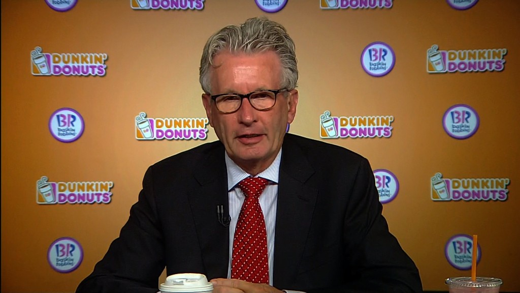 Dunkin' Brands CEO: $15 minimum wage is 'outrageous'