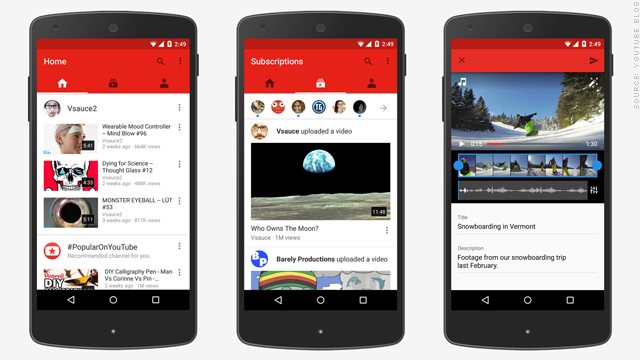 youtube mobile applications free download