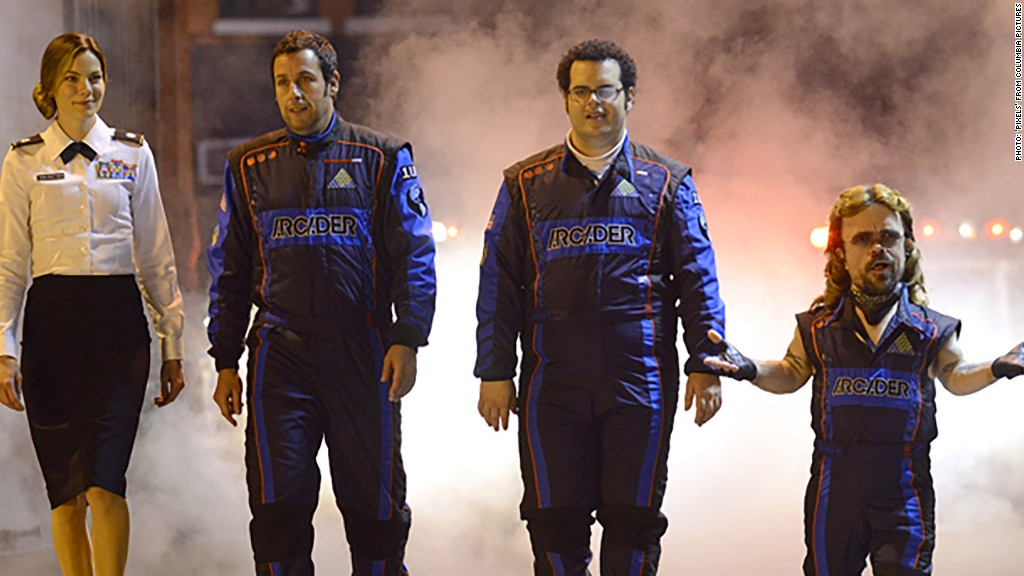 Does Adam Sandler mean game over for 'Pixels?'