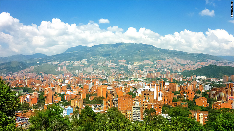 medellin  colombia - top places to retire abroad