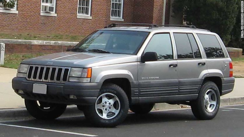 chrysler recall 1998 jeep grand cherokee