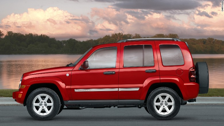 chrysler recall 2007 jeep liberty