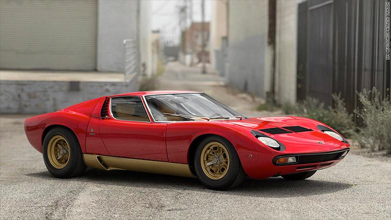 1971 Lamborghini Miura P400 Sv World S Most Valuable Car