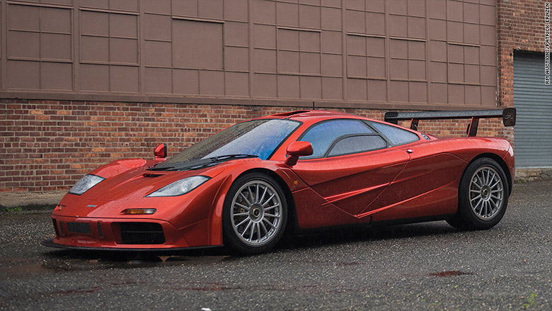 1998 Mclaren F1 Lm Specification World S Most Valuable