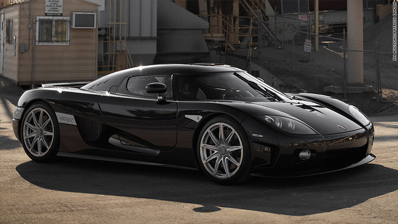 Top 10 Fastest Cars In The World >> 2008 Koenigsegg CCXR - World's most valuable car ...
