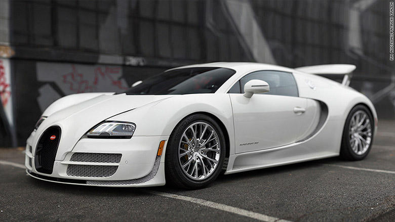 2012 Bugatti Veyron - World's most valuable car collection to be ...