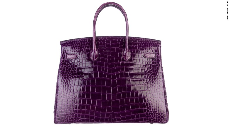birkin bag purple