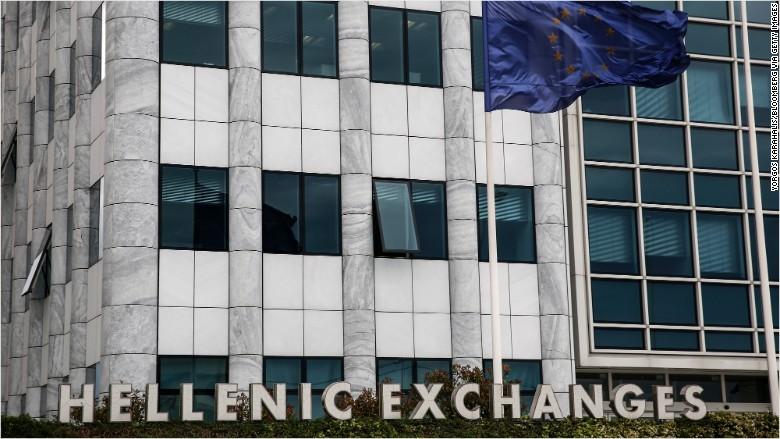 athens stock market hellenic exchanges greece