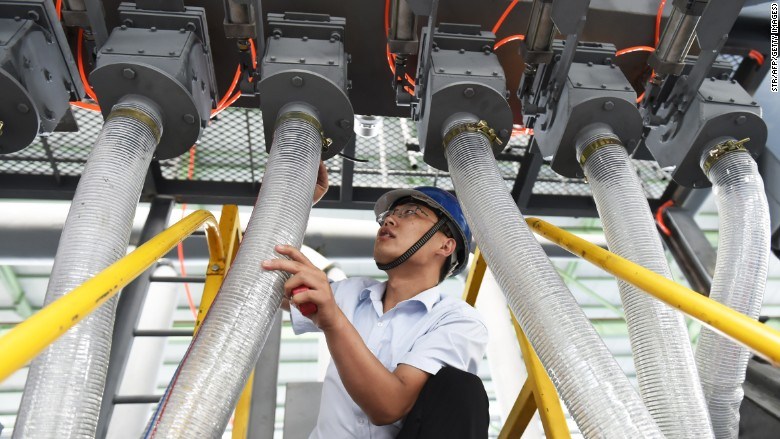 China's huge factory sector is struggling