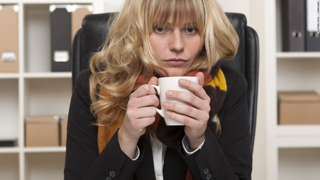 Here S Why Women Feel Cold In The Office