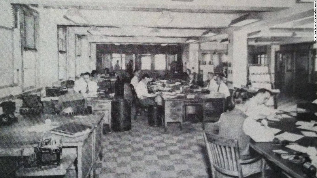 portland press herald historic interior