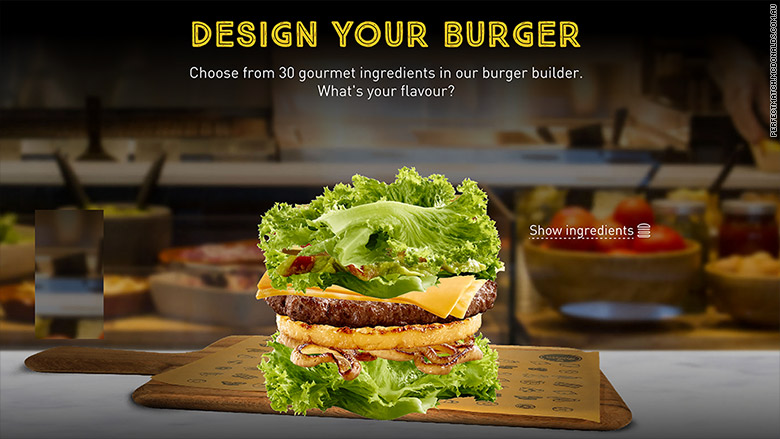 mcdonalds australia lettuce burger