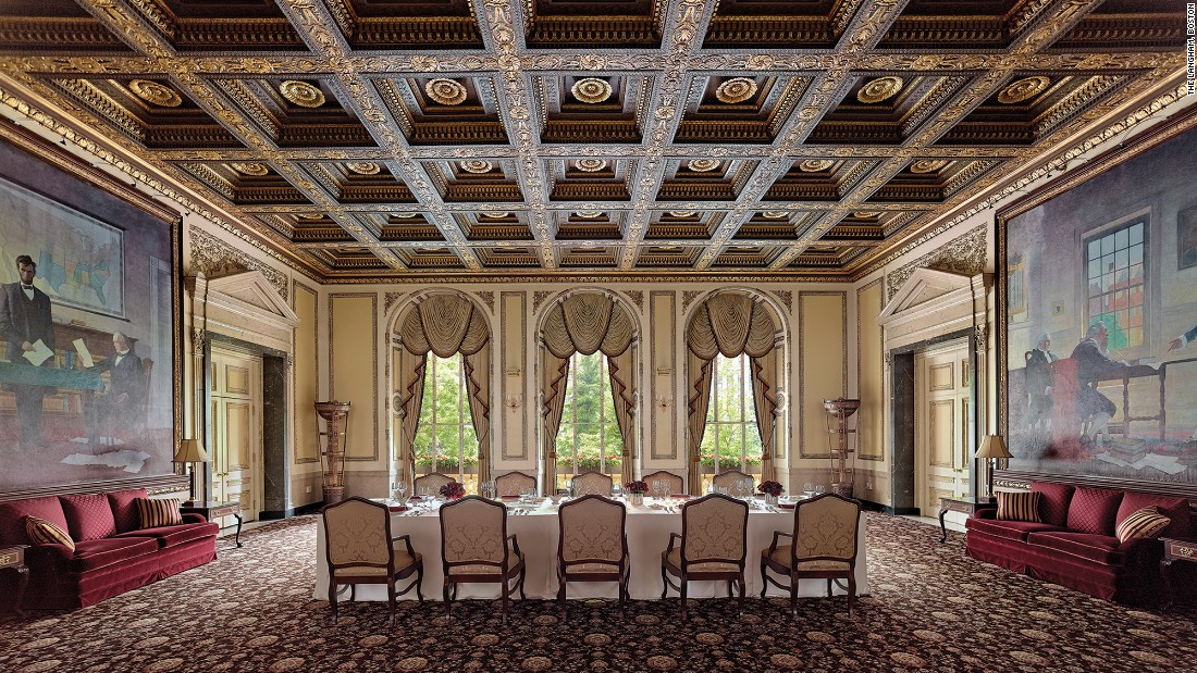 the langham boston meeting room