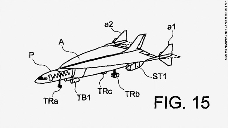 ultra rapid air vehicle patent