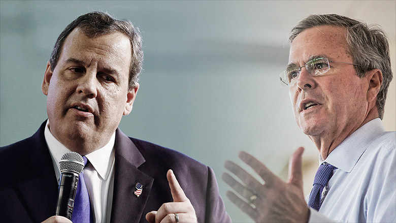 jeb bush chris christie