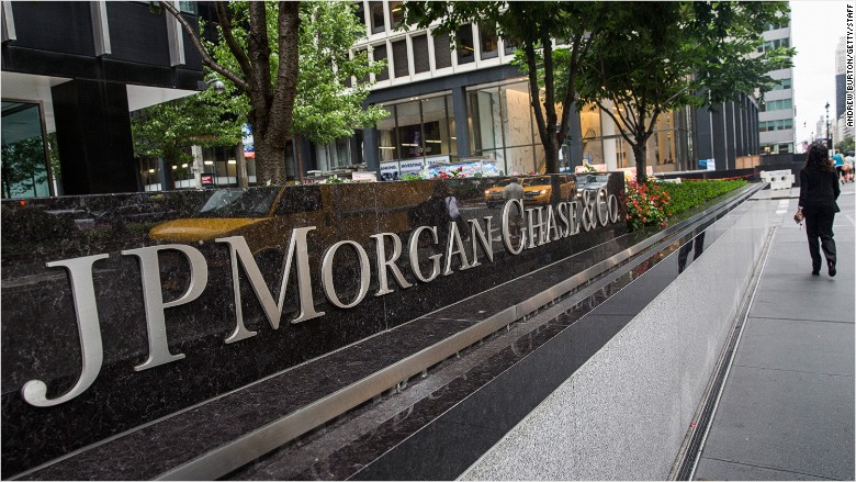 JPMorgan sign exterior