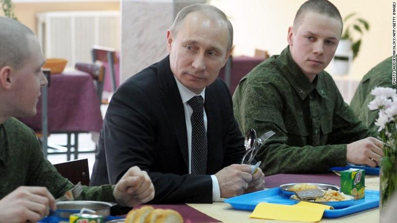 Putin dinner