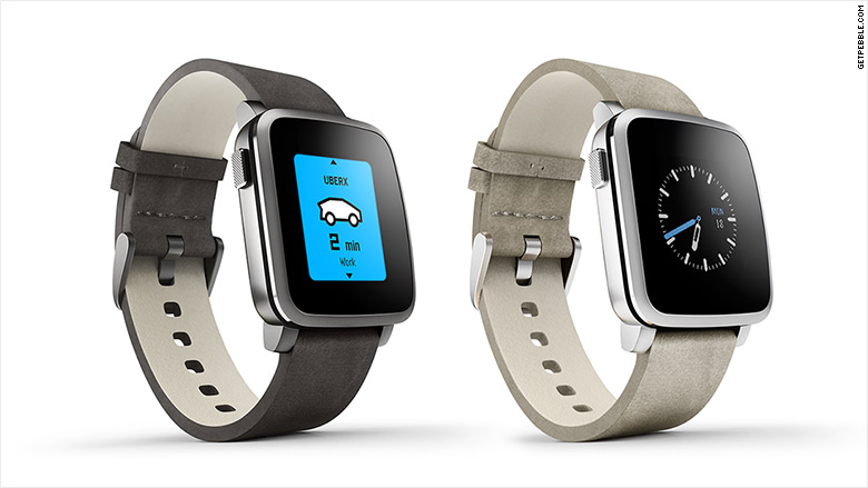 Pebble rolls out new steel smartwatch