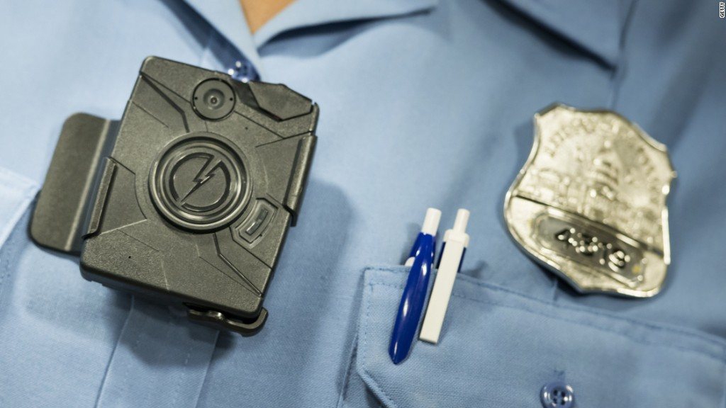 A year after Michael Brown, the body cam business is booming