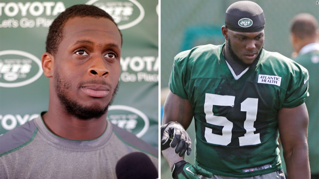 NY Jets QB's jaw broken in locker room fight