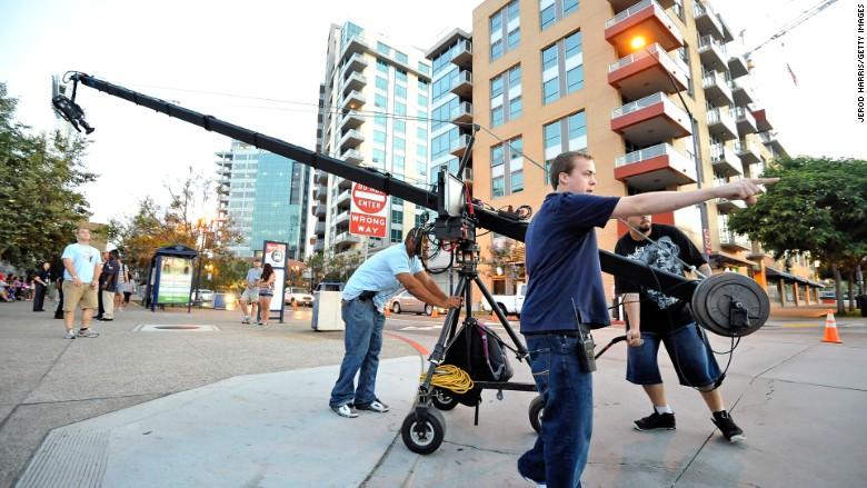 film tv crew