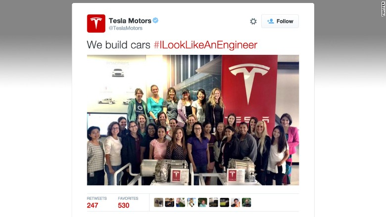 tesla engineer tweet