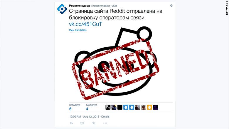 reddit russia tweet