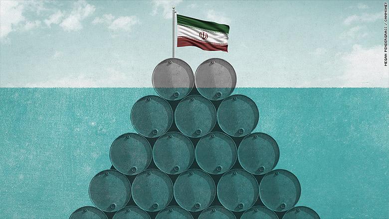 iran hoarding oil