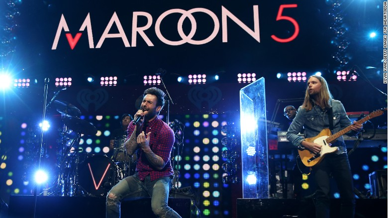 maroon 5 banned china